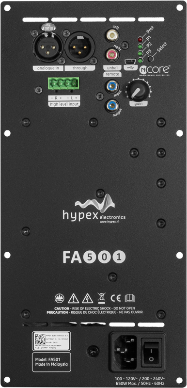 hypex fusionamp 501 front gross